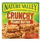 Nature Valley Crunchy Peanut Butter Cereal Bars, 5x42g