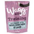 Wagg Training Treats Chicken Beef And Lamb 125G