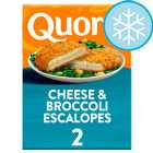 Quorn 2 Cheese And Broccoli Escalopes 240G