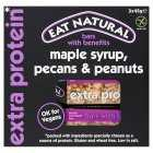 Eat Natural Maple Syrup Pecans Peanuts, 3x45g