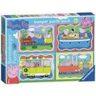 Ravensburger Peppa Pig 42 Piece Puzzle - 4 Pack