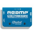 Radial ProRMP Transformer Isolated Passive Studio Reamper, 14 Guage Steel Chassis