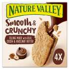 Nature Valley Nut Butter Cocoa & Hazelnut Biscuit Cereal Bars 152g